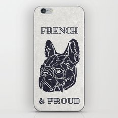 French & Proud iPhone & iPod Skin