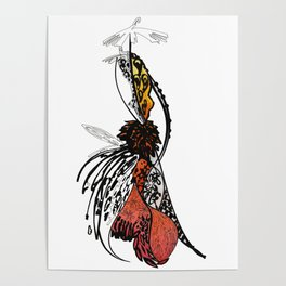 Fashion illustration Poster