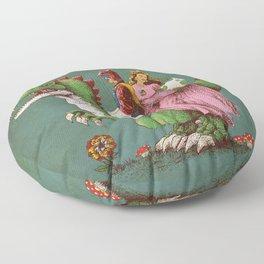 historical reconstitution Floor Pillow