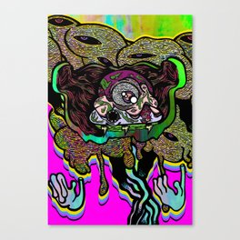 Leader of the Clouds Canvas Print