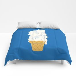 Cats Ice Cream Comforters