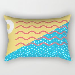 Memphis Style N°2 Rectangular Pillow