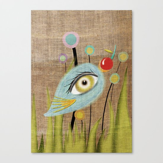 I am going to eat you up  Canvas Print