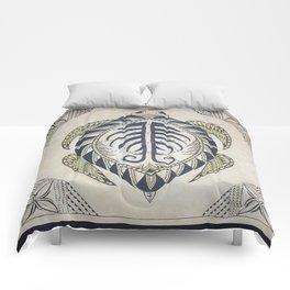 Sacred Turtle Comforters