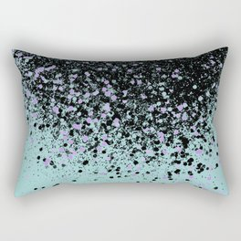Mermaid Summer Vibes Glitter #1 #shiny #decor #art #society6 Rectangular Pillow