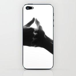 thumb war iPhone Skin