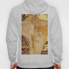 Water Serpents Gustav Klimt Hoody