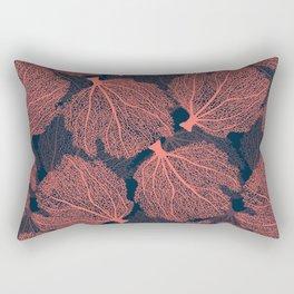 Fan living coral Rectangular Pillow