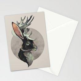 Jackalope Bust Stationery Cards