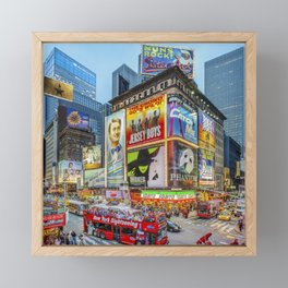 Times Square III Special Edition I Framed Mini Art Print