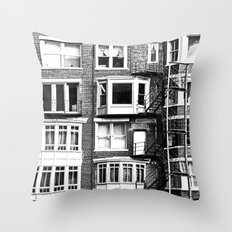 Escapes Throw Pillow