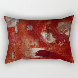 Burgundy Rectangular Pillow