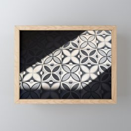Playing with Light (Marrakech) Framed Mini Art Print