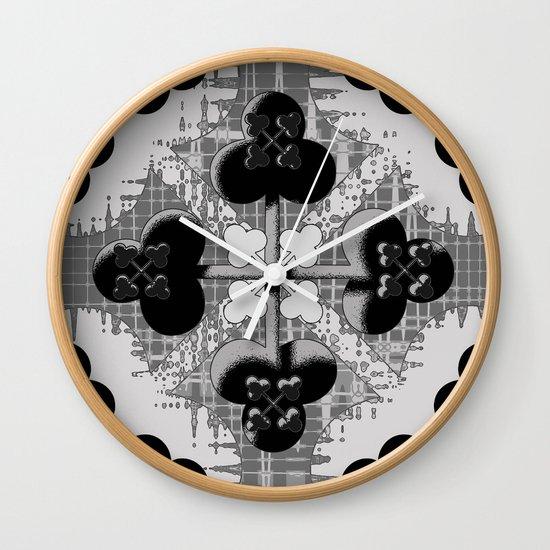 Clubs Wall Clock