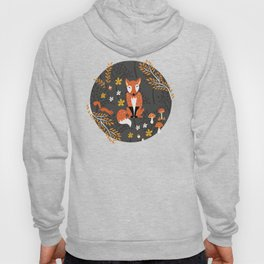 Autumn Foxes in the Forest Hoody