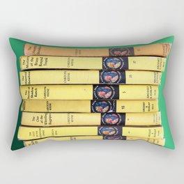 Nancy Drew Stack - Rectangular Pillow