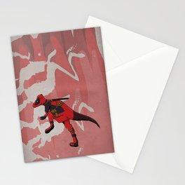 Deadpachycepoolosaurus - Superhero Dinosaurs Series Stationery Cards