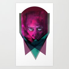 THREE-ANGLE Art Print