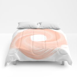 Cotton candy pink Comforters