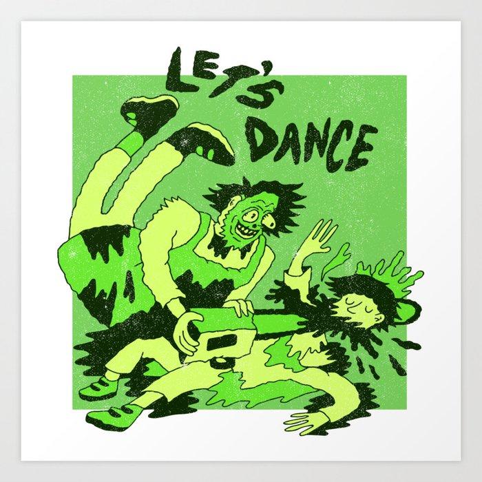 Texas Chainsaw X Bowie Art Print