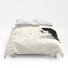 LOVE (series) Comforters