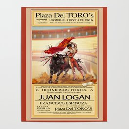 Matador One by John Logan Poster