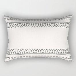 Tribal Pattern of Balondo Rectangular Pillow