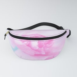 Carnation flower or Love is in the air Fanny Pack
