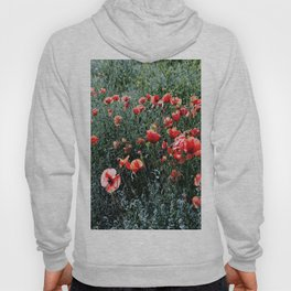 Poppies In A Field Hoody