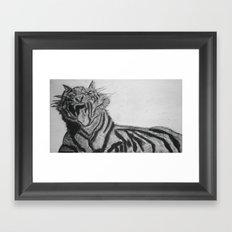 Roar! Framed Art Print