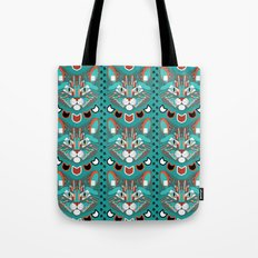 Cubist Cat Tote Bag