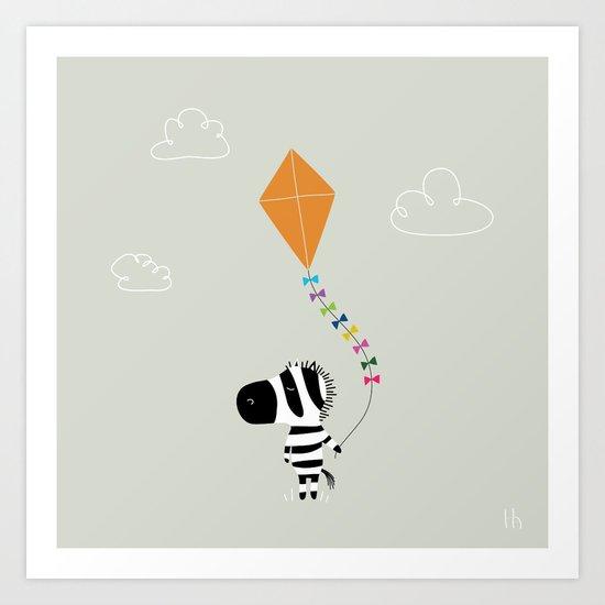 The Happy Childhood Art Print