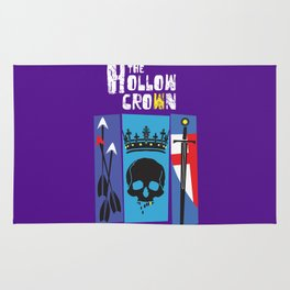 The Hollow Crown Rug