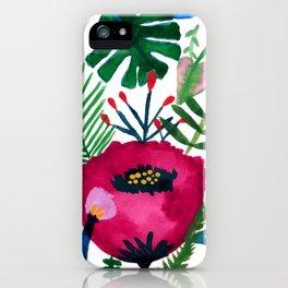 Inside the mind of a botanist iPhone Case