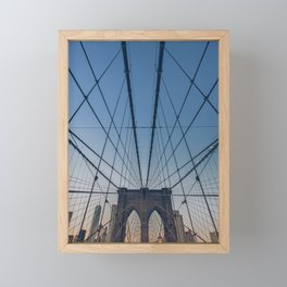 Brooklyn Mornings Framed Mini Art Print