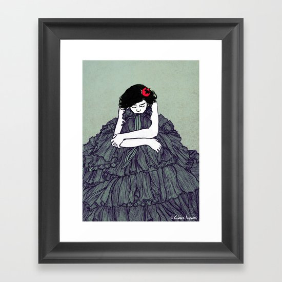 Ink 001 Framed Art Print