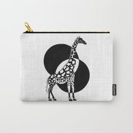 Inverted Giraffe Carry-All Pouch