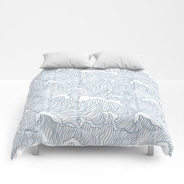 Japanese Wave Comforters