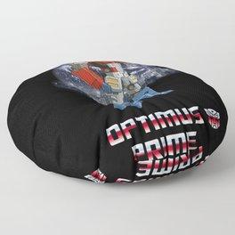 Optimus Prime Floor Pillow