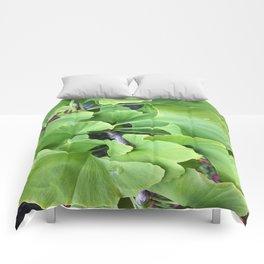 Ginkgo Leaves Comforters
