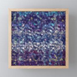 Abstract circle #5 Framed Mini Art Print