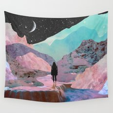 The Mountains of Lemuria Wall Tapestry