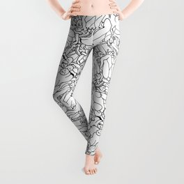 Fifty shades of Love (Light) Leggings