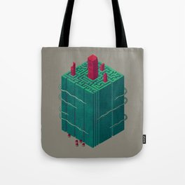 Within the Maze Tote Bag