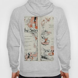 The Sign a Fairy poem Hoody