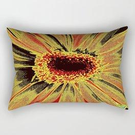 Burned Out Rectangular Pillow