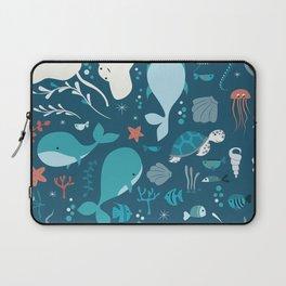 Sea creatures 004 Laptop Sleeve