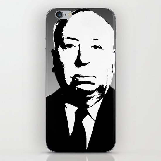 The Master Of Suspense iPhone & iPod Skin