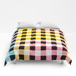 Colorful Checker 05 Comforters