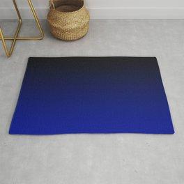 Cobalt blue Ombre Rug